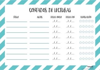 CONTADOR LECTURAS - rayas